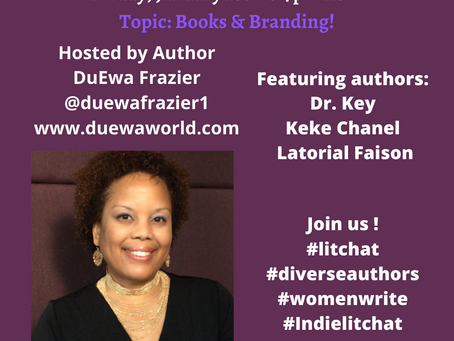 1/10 Diverse Authors #LitChat @Twitter Feat. DuEwa