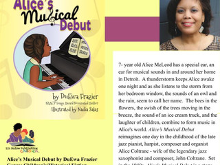 DuEwa's New Children's Book! Alice's Musical Debut