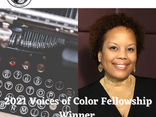 DuEwa selected for 2021 voices of color fellowship (mvicw)