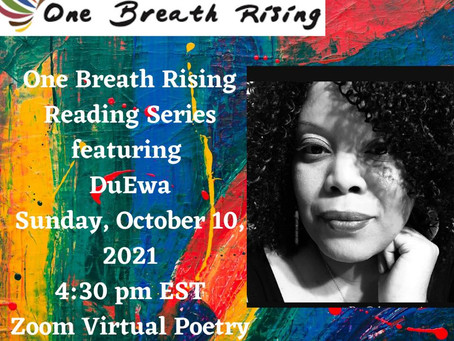 10/10 DuEwa features at one breath rising reading series