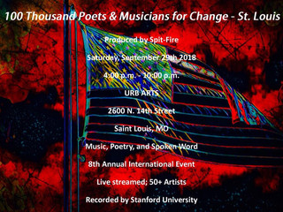9/29 Event: DuEwa features at 100 Thousand Poets & Musicians for Change