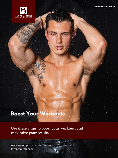Boost Your Workouts Guide