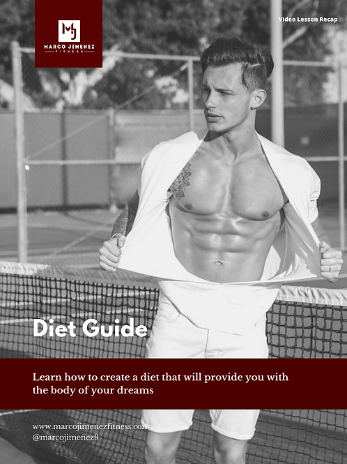 How To Create Your Own Diet - E-Book