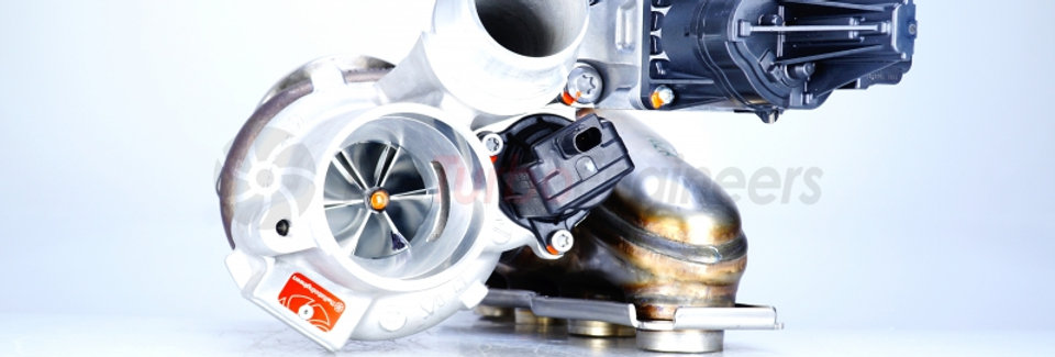 Hybrid turbocharger TTE400 for BMW N20