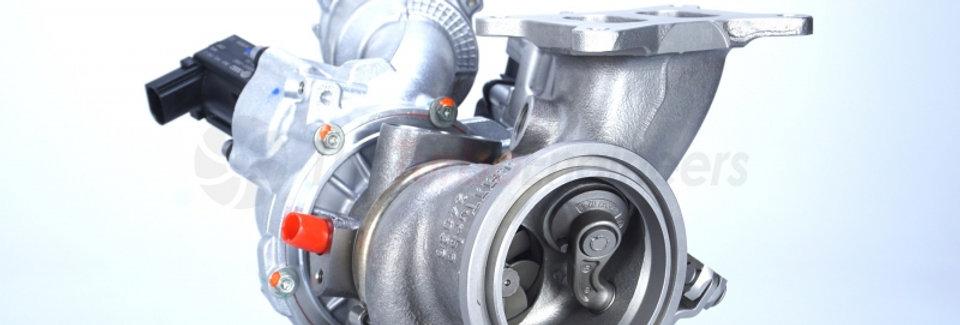 TTE350 + IS12 upgrade turbocharger for VAG 1.8 TSi EA888.3 MQB