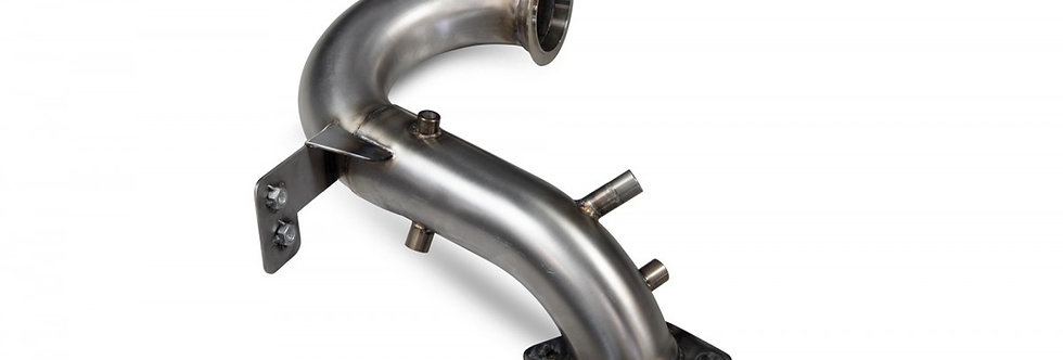 Renault Megane 4 RS with GPF Scorpion Decat Downpipe