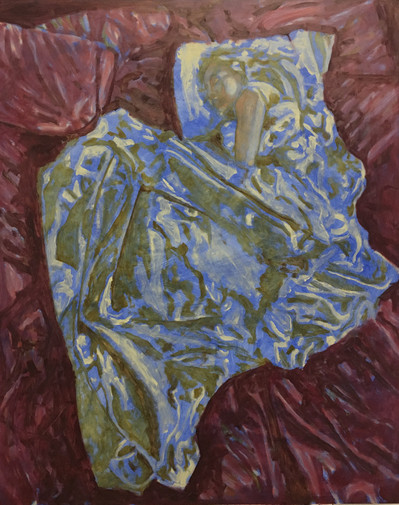 Dede Sleeping painting study 5