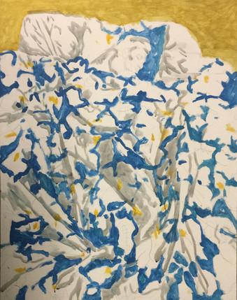 Dede Sleeping painting study 2