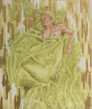 Dede Sleeping painting study 1