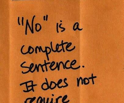 Do You Hate Saying No?