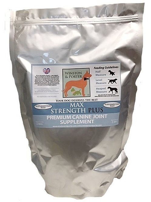 Max Strength Plus Premium Canine Joint Supplement From