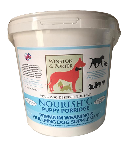 Puppy Porridge Premium Weaning and Whelping Supplement From