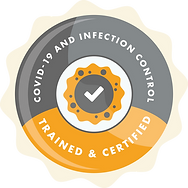 MFA - Infection Control Badge - Colour -