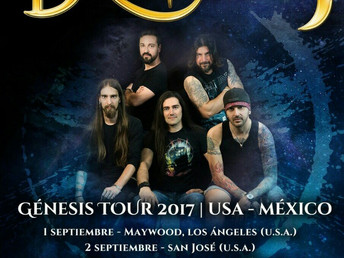 Dragonfly Genesis tour 2017 (Usa-México)