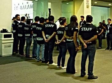 Apotación de Staff