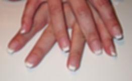ongles en gel French MarieL