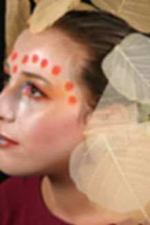 Maquillage soirée déguisée MarieL