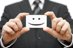 Our Clients Are Happy Clients, Smile On Business Card.jpg