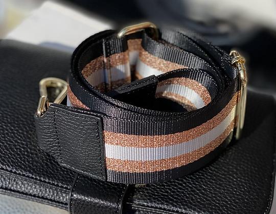 Stripe black/brons