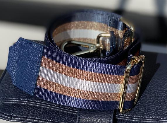 Stripe Blue/silver