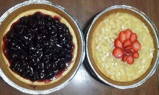 Cheese Cake(Blueberry & Strawberry)