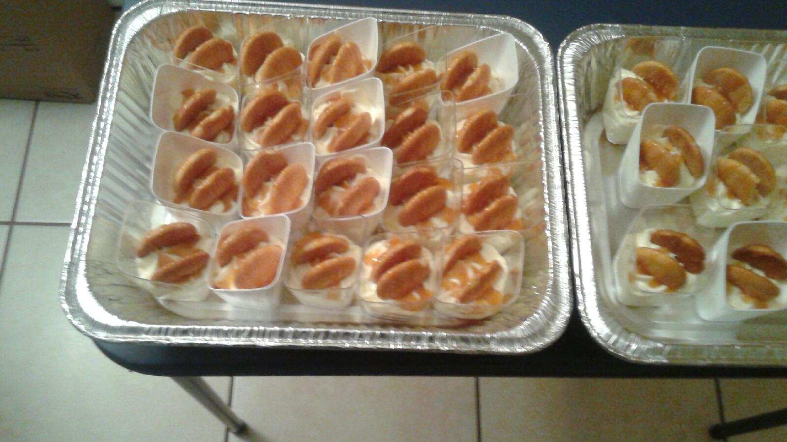 Banana Pudding Shots