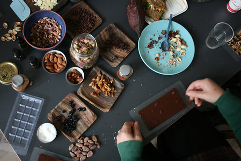 Workshop Chocolate Making for max 10 people