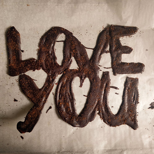 Customized Chocolate Words