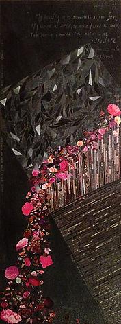 Giulietta's balcony collage Lili Mascio