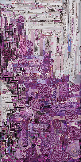 Secret garden collage Lili Mascio