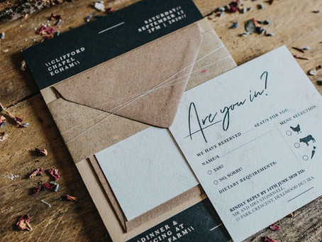 Secrets of Successfully Saving for your Wedding Stationery