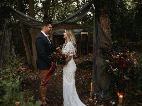 Why A Stylist Is A Sustainable Choice Whatever The Size Of  Your Wedding
