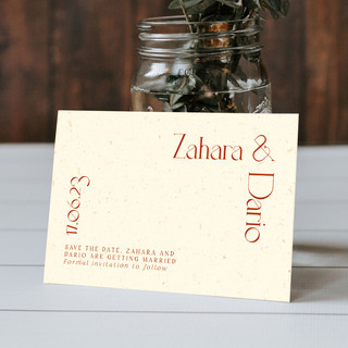 BASE save the date card