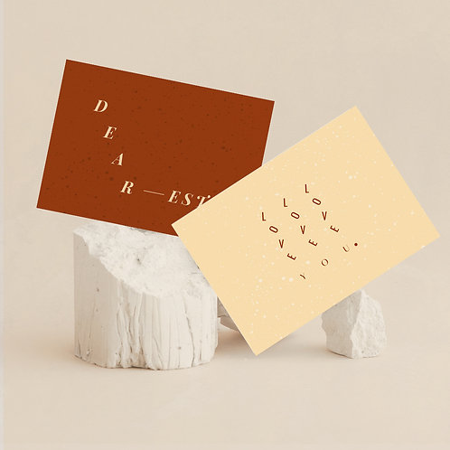 Love postcards - set of 8
