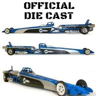Miller Welding Jet Dragster Diecast