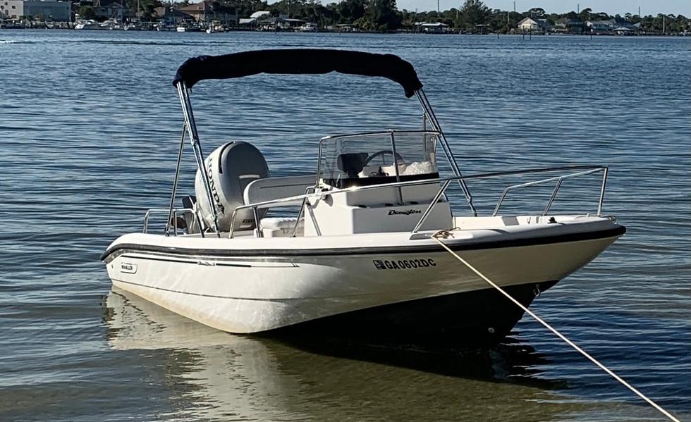 Sea Dog 2000 18' Boston Whaler Dauntless