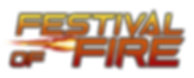 festival of fire logo with confirmed bla