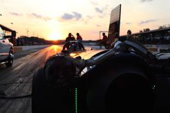 Sunset on a Race Track