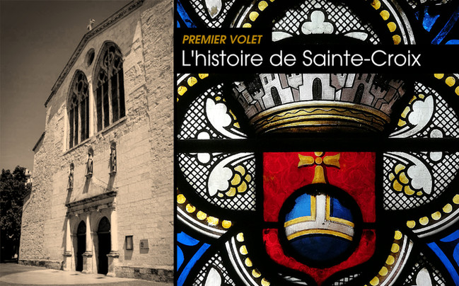 La restauration des vitraux de l'église Sainte-Croix à Montélimar (1/4)