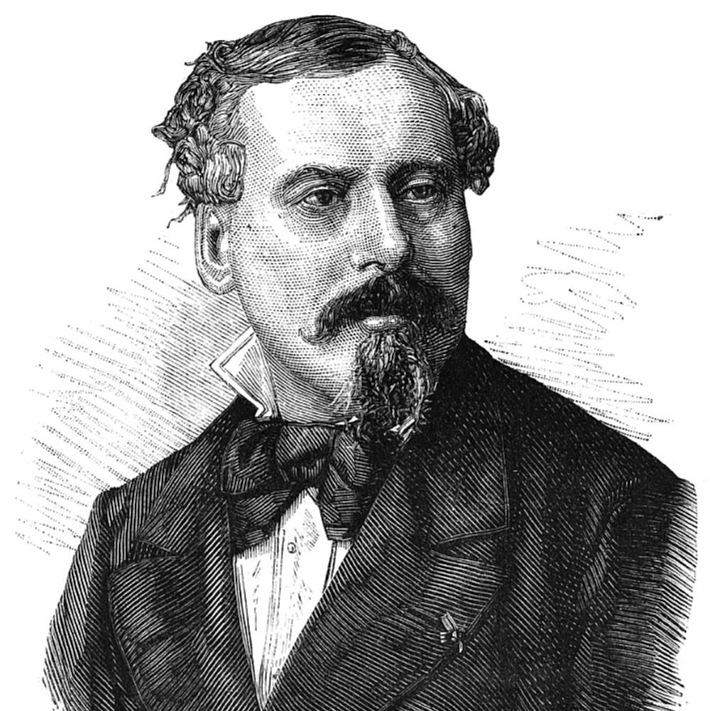 Le portrait gravé de Louis-hector Gesta