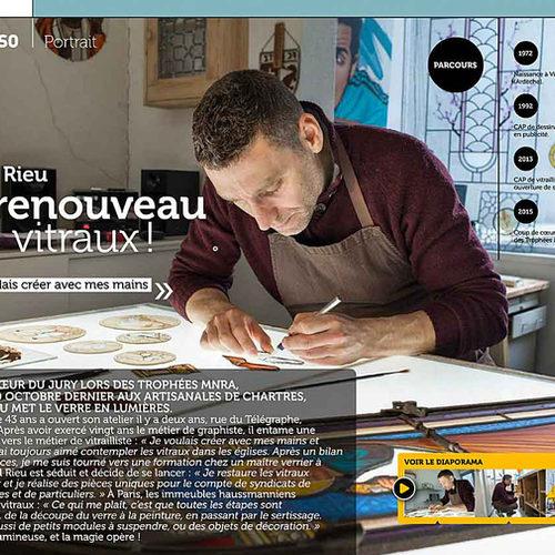 Articles presse vitrail | L\'Artisan du Vitrail