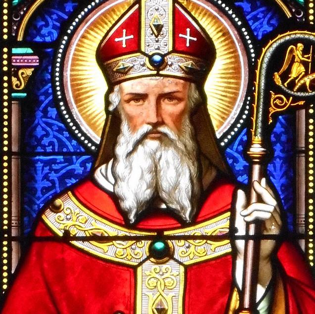 Saint-Martin en évêque