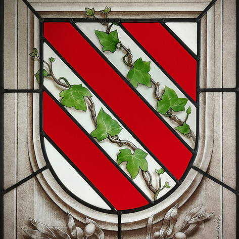 Vitrail heraldique (blason)