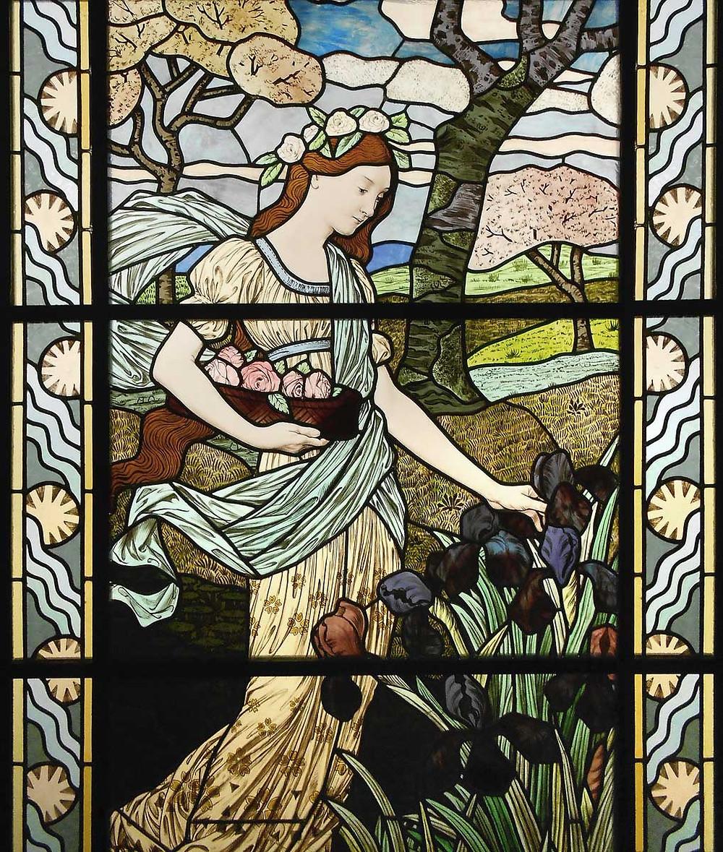 Vitrail Art Nouveau de Felix Gaudin (1894)