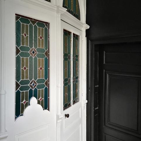 Restauration de vitraux anciens à Tours