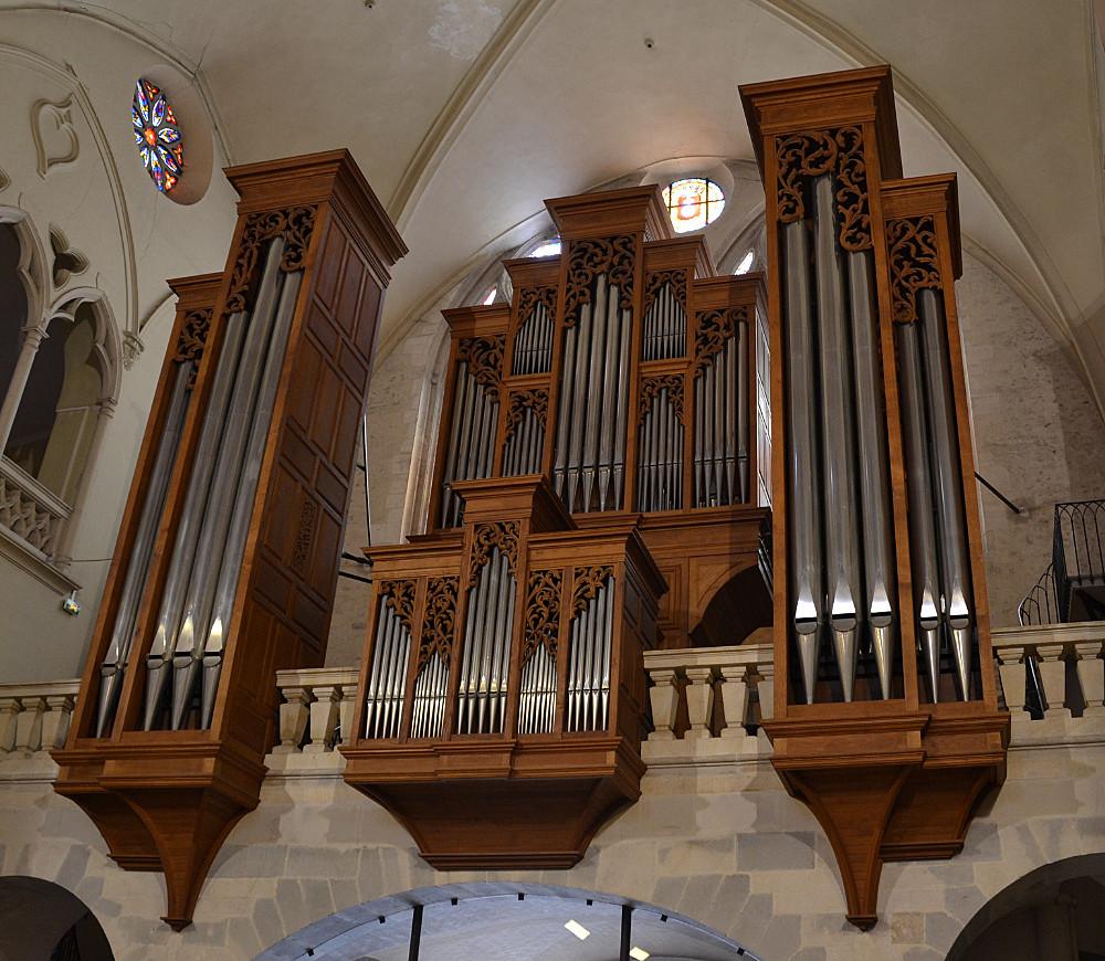 Le grand orgue Von Beckerath de Sainte-Croix