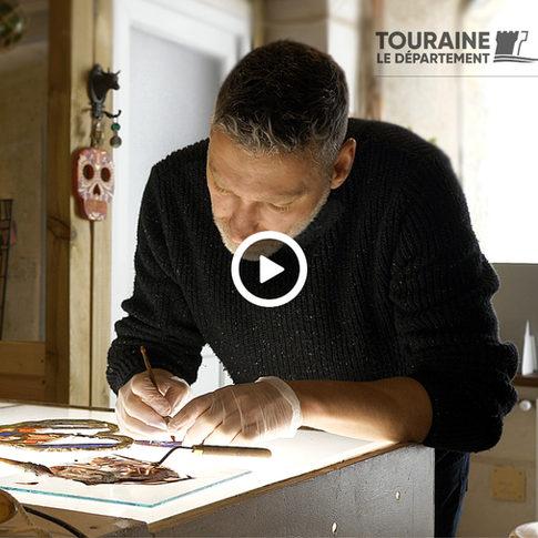 Portrait vidéo par le département d'Indre et Loire