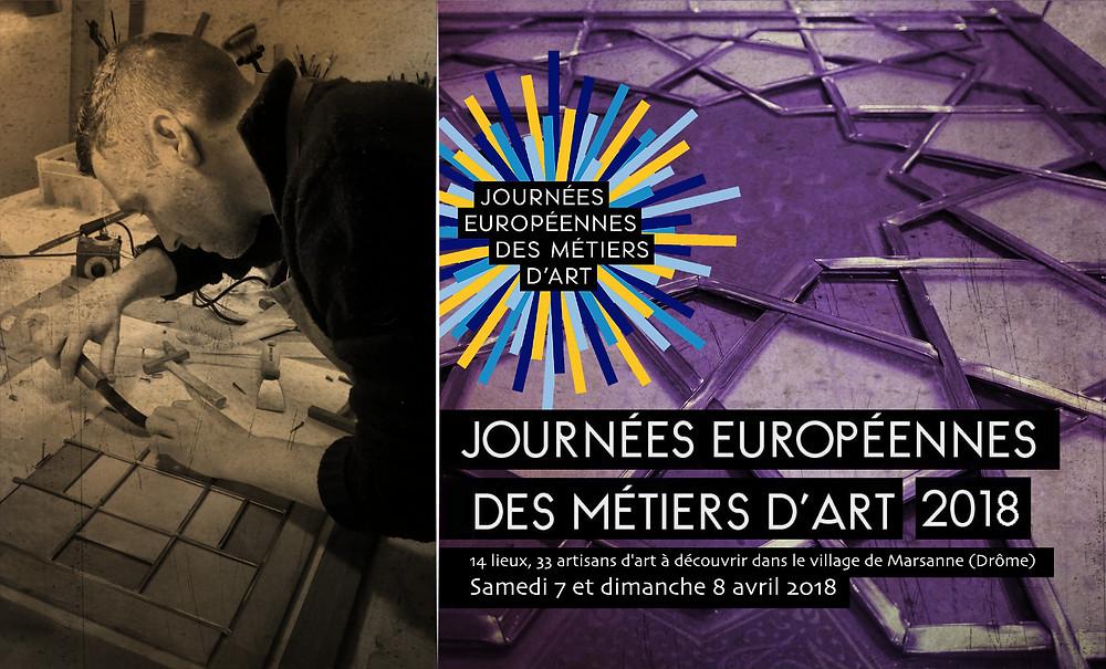 Les Journées Européennes des Métiers d'Art 2018