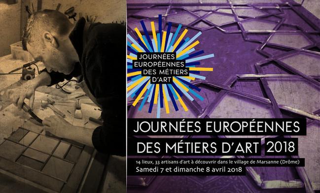 Événement : les Journées Européennes des Métiers d'Art (JEMA) 2018