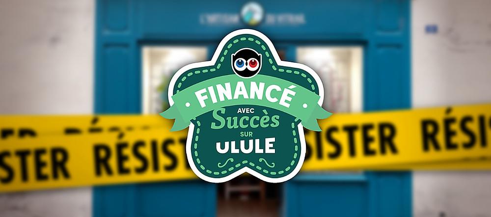 Campagne Ulule financées avec succès!